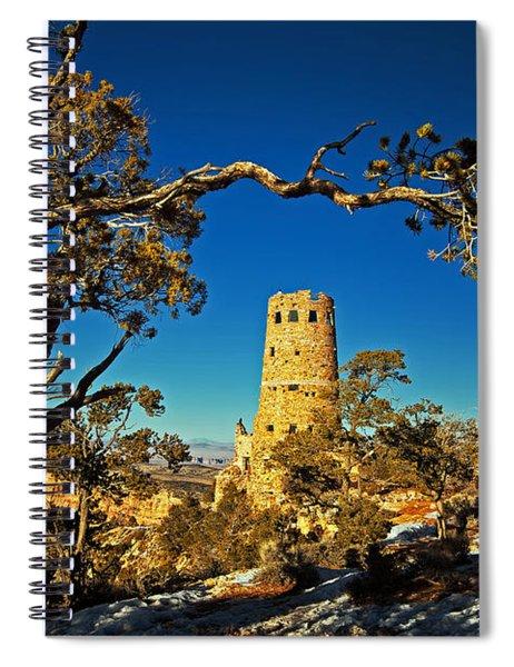 Desert View Watchtower, Grand Canyon National Park, Arizona Spiral Notebook