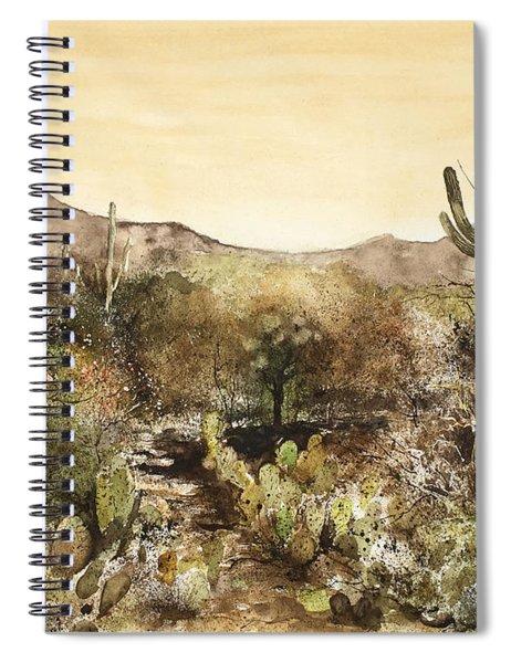 Desert Walk Spiral Notebook