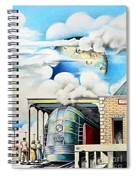 Desert Wind Spiral Notebook