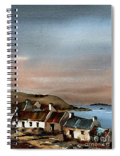 Deserted Village, Blasket Mor, Kerry Spiral Notebook
