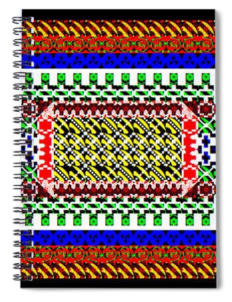 Design1d_16022018 Spiral Notebook