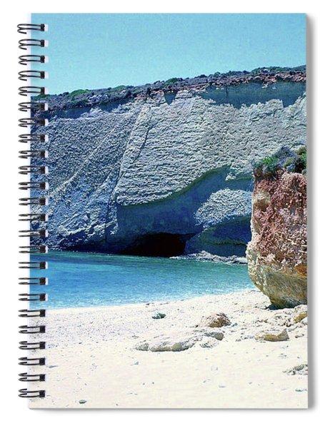 Desolated Island Beach Spiral Notebook