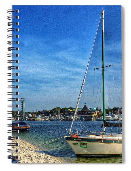 Destin Florida Spiral Notebook