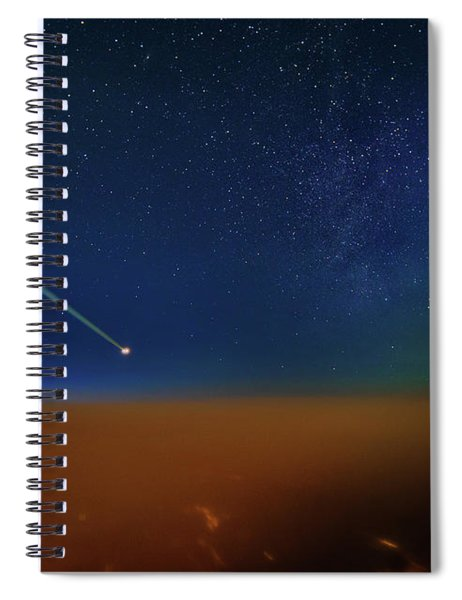 Destination Universe Spiral Notebook