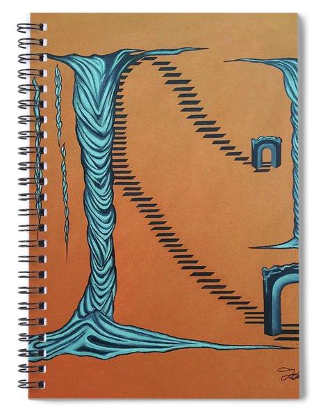 Destined Flow Spiral Notebook