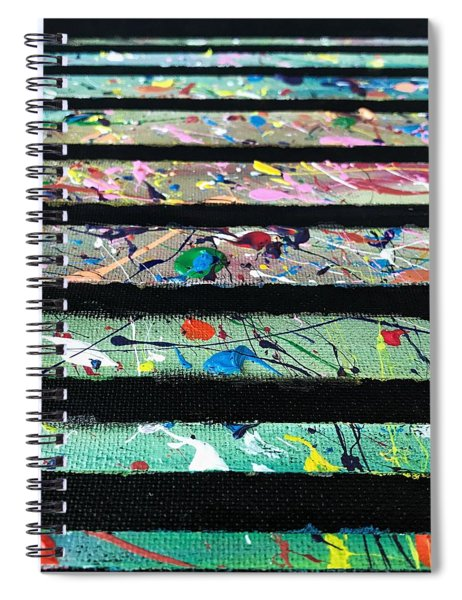 Detail Of Agoraphobia  Spiral Notebook