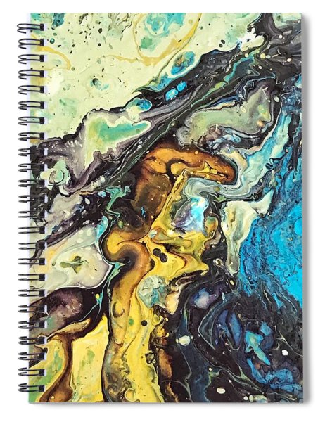 Detail Of Conjuring 3 Spiral Notebook