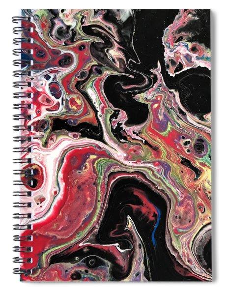 Detail Of Harakiri 3 Spiral Notebook