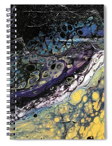 Detail Of He Likes Space 2 Spiral Notebook
