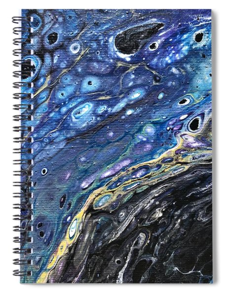 Detail Of He Likes Space 3 Spiral Notebook