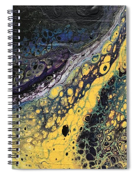 Detail Of He Likes Space 4 Spiral Notebook