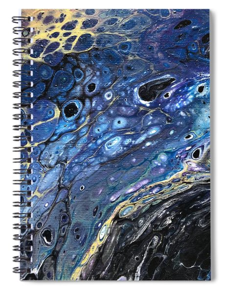 Detail Of He Likes Space 5 Spiral Notebook