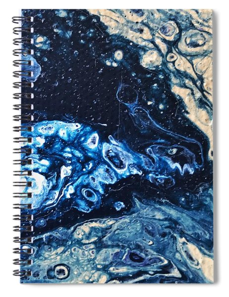 Detail Of Tree Of Life Spiral Notebook