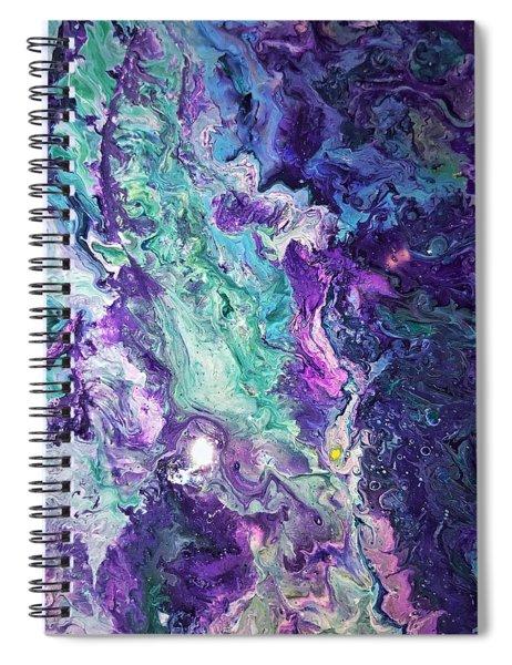 Detail Of Waves 3 Spiral Notebook