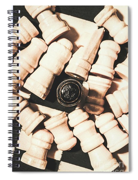 Details From The Games Room Spiral Notebook