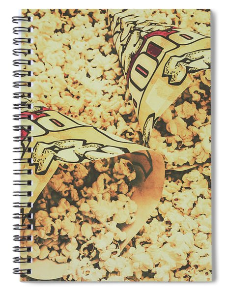 Details From The Old Drive-in  Spiral Notebook