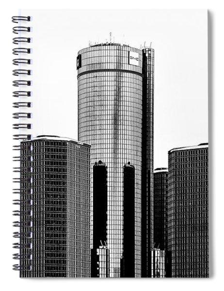Detroit Rencen Spiral Notebook
