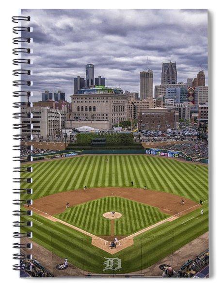 Detroit Tigers Comerica Park 4837 Spiral Notebook