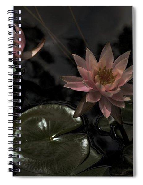 Deuces In The Moonlight Spiral Notebook