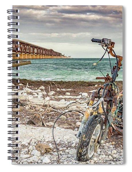 Devastation Colour Spiral Notebook