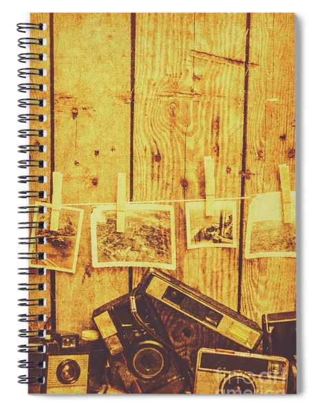Developing A Scene Spiral Notebook