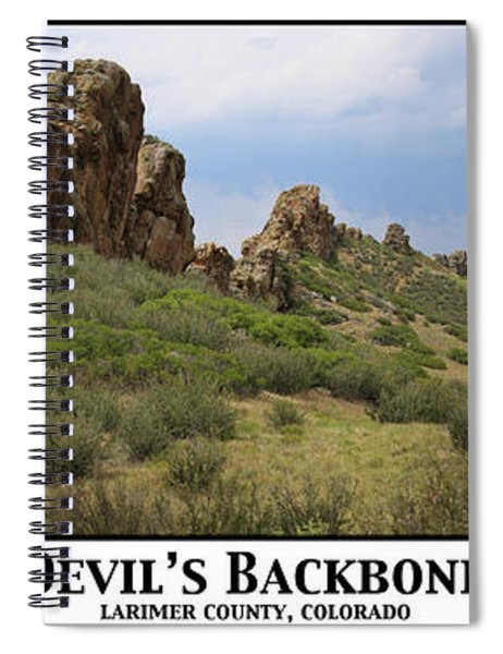 Devil's Backbone Spiral Notebook