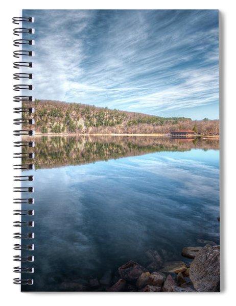 Devils Lake Spiral Notebook