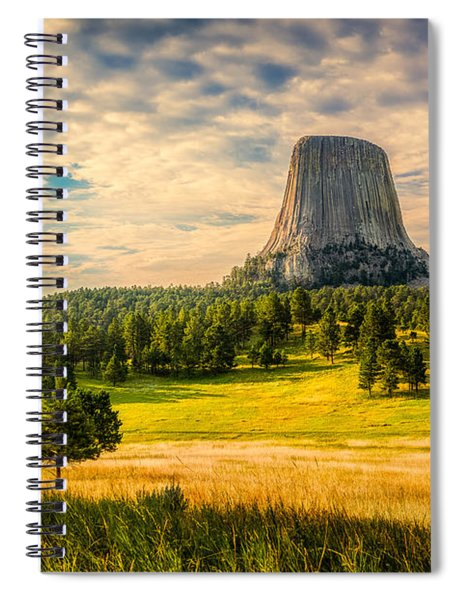 Devil's Tower - The Other Side Spiral Notebook