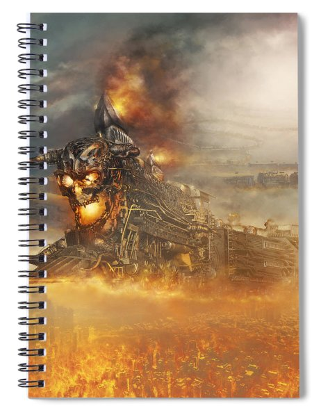Devils Train 2 Spiral Notebook