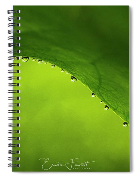 Dew Drops Spiral Notebook