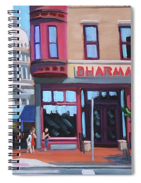 Dharma Building - Boise Spiral Notebook