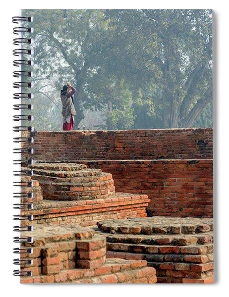 Dharma Chakra Jinavihara 02 Spiral Notebook