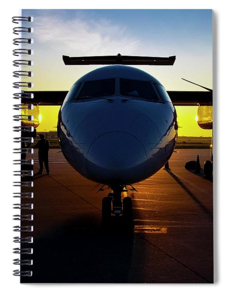 Dhc-8-300 Refueling Spiral Notebook