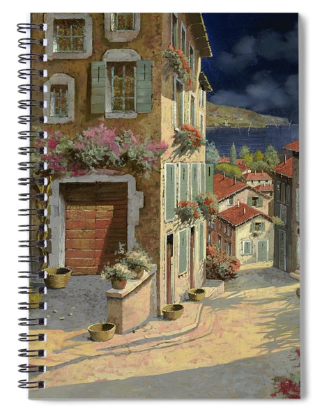 Di Notte Al Mare Spiral Notebook