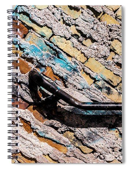 Diagonal Approach Spiral Notebook