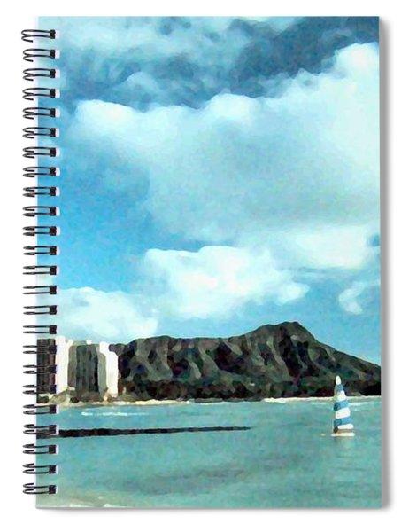Diamond Head Spiral Notebook