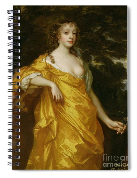 Diana Kirke-later Countess Of Oxford Spiral Notebook