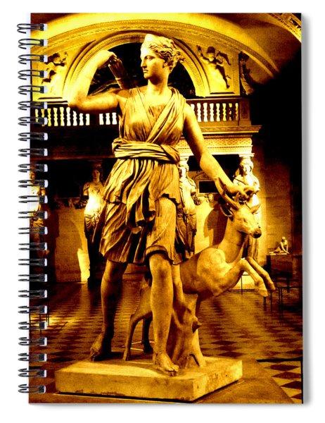 Diana Spiral Notebook