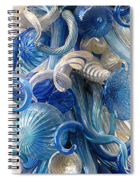 Diaphanous Nudibranch Spiral Notebook