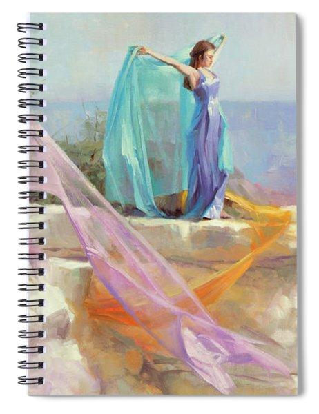 Diaphanous Spiral Notebook