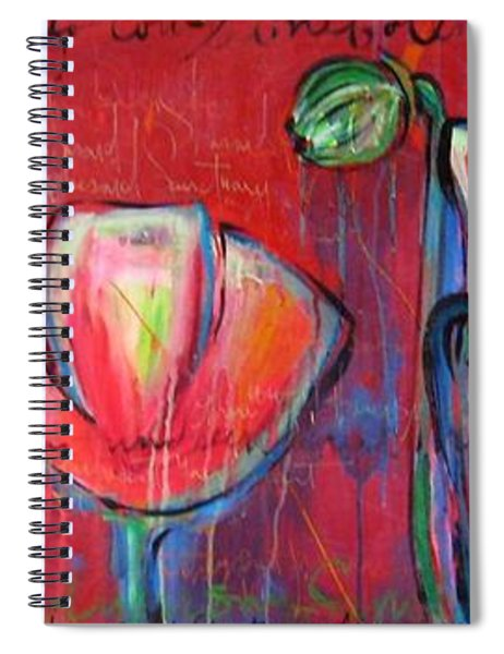 Did You Say Sanctuary Spiral Notebook