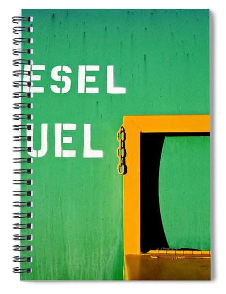 Diesel Green Spiral Notebook