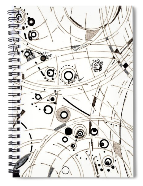 Diffracting Around Spiral Notebook