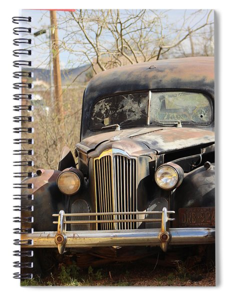 Digger O Balls Funeral Pallor Hearse Spiral Notebook
