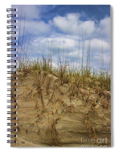 Digging In Deep In Sand Dunes Spiral Notebook