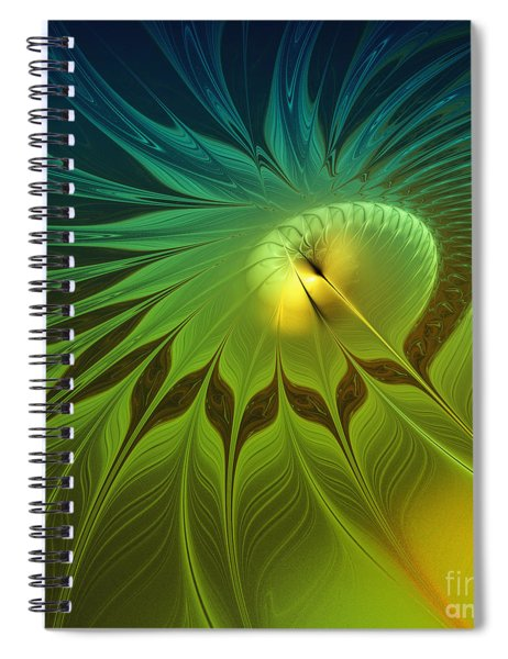 Digital Nature Spiral Notebook