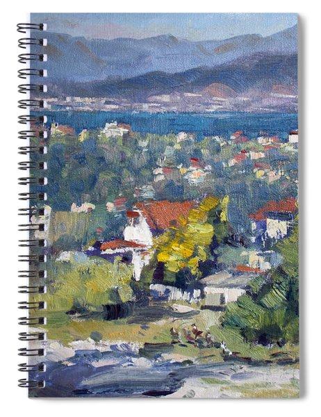 Dilesi Village Athens Spiral Notebook