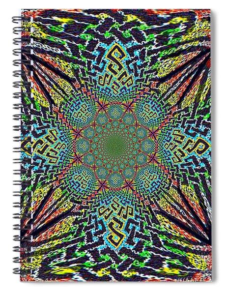 Dimensional Celtic Cross Spiral Notebook