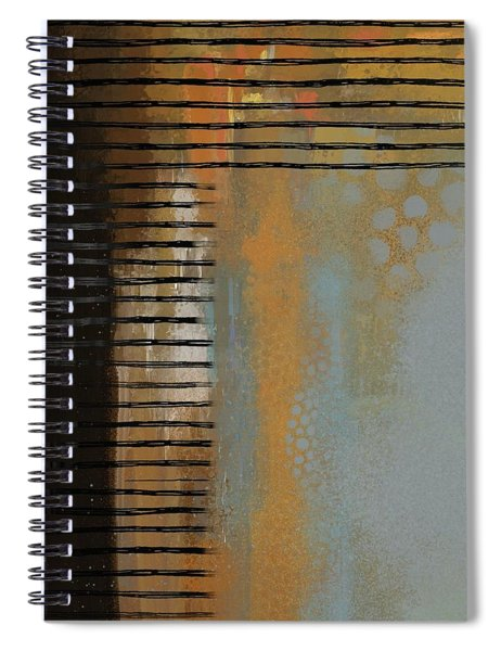 Dimensional Lines Spiral Notebook