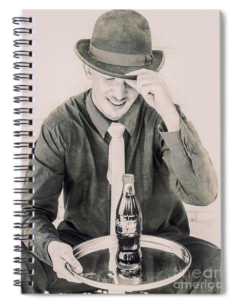 Diner Tips Spiral Notebook